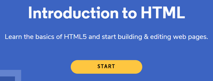 Codecademy's Introduction to HTML Free Online Course