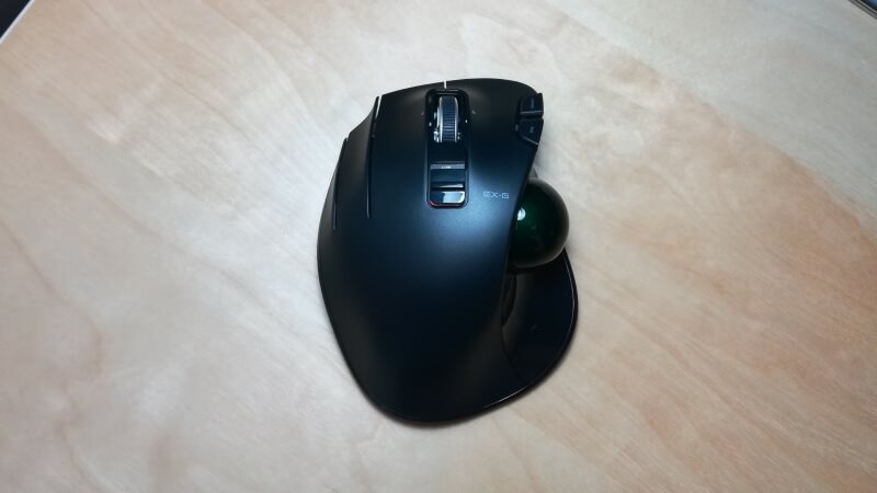 ELECOM M-XT4DRBK Wireless Trackball Mouse