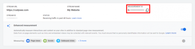 Where to Find Your Measurement ID in Google Analytics 4