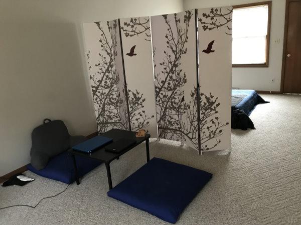 Minimalist Japanese Style Room